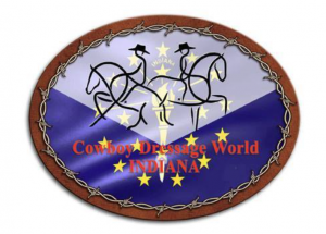 Cowboy Dressage Word of Indiana